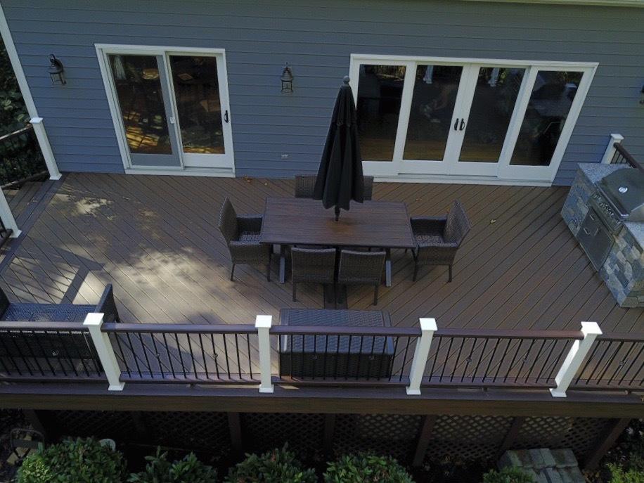 Deck installation in Dayton, MD