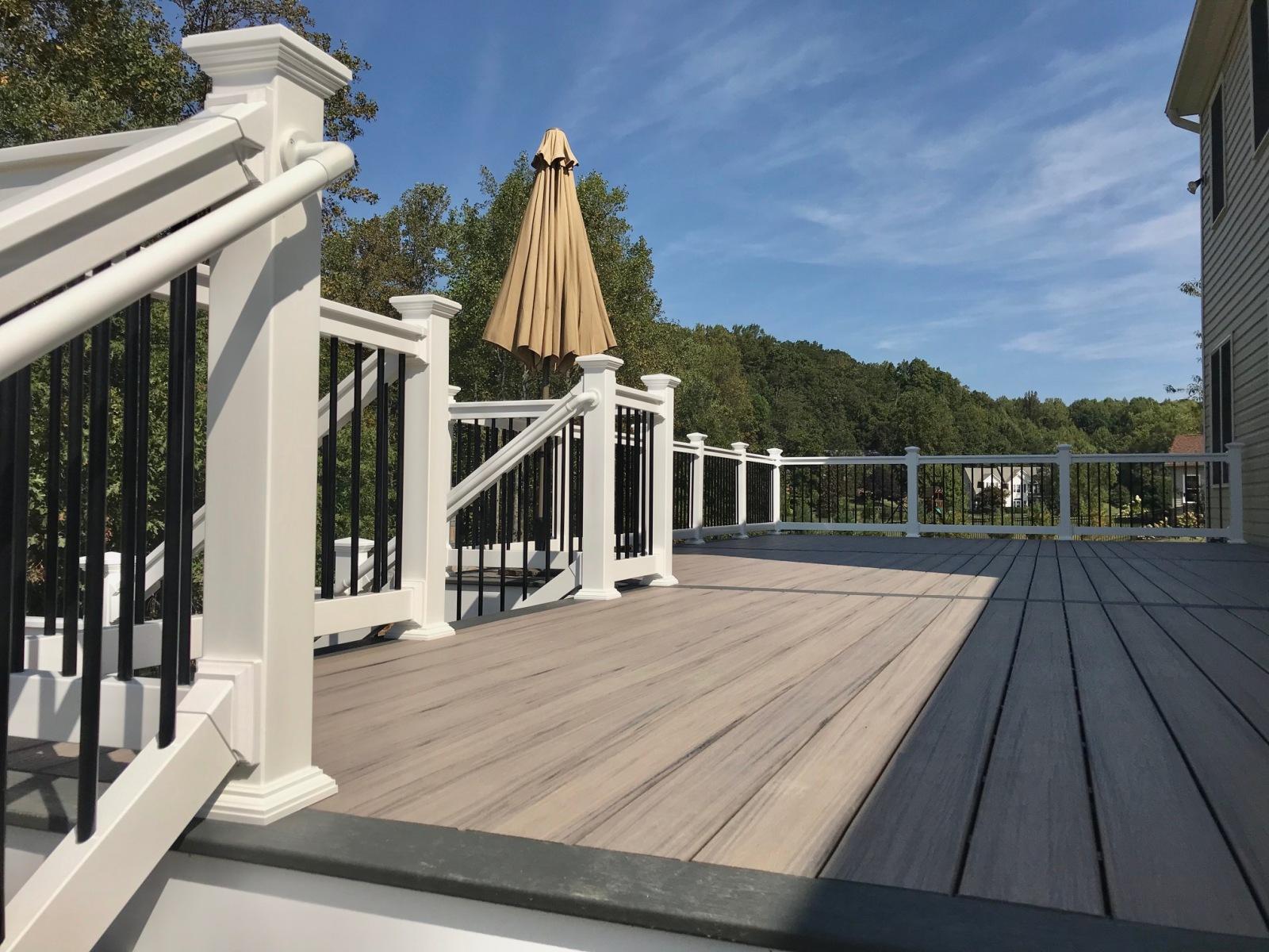 Deck installation in Sykesville, MD