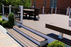 Deck to Outdoor Patio Design in Sykesville