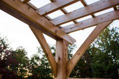 Pergola Wood Canopy