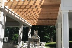 Pergola and outdoor patio installation in Dayton MD