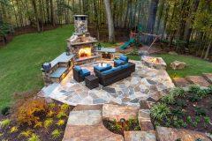 Outdoor patio installation and design in Ellicott City