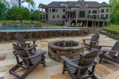 Fire Pit Calure in Ellicott City home