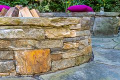 Fire Pit Cascio outdoor patio design in Clarksville MD