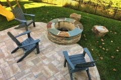 Fire Pit at Dayton MD home