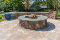 Fire Pit Johnston patio installation in West Friendship MD