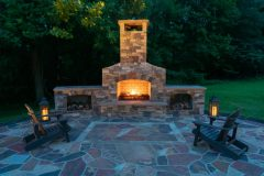 Fireplace Calure, Outdoor Patio Design in Glenwood MD
