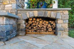 Fireplace Cashman logs