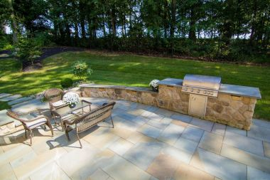 outdoor kitchen and patio design in Dayton MD