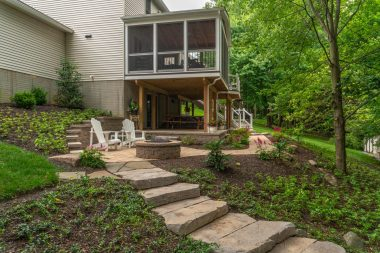 Hardscaping in West Friendship