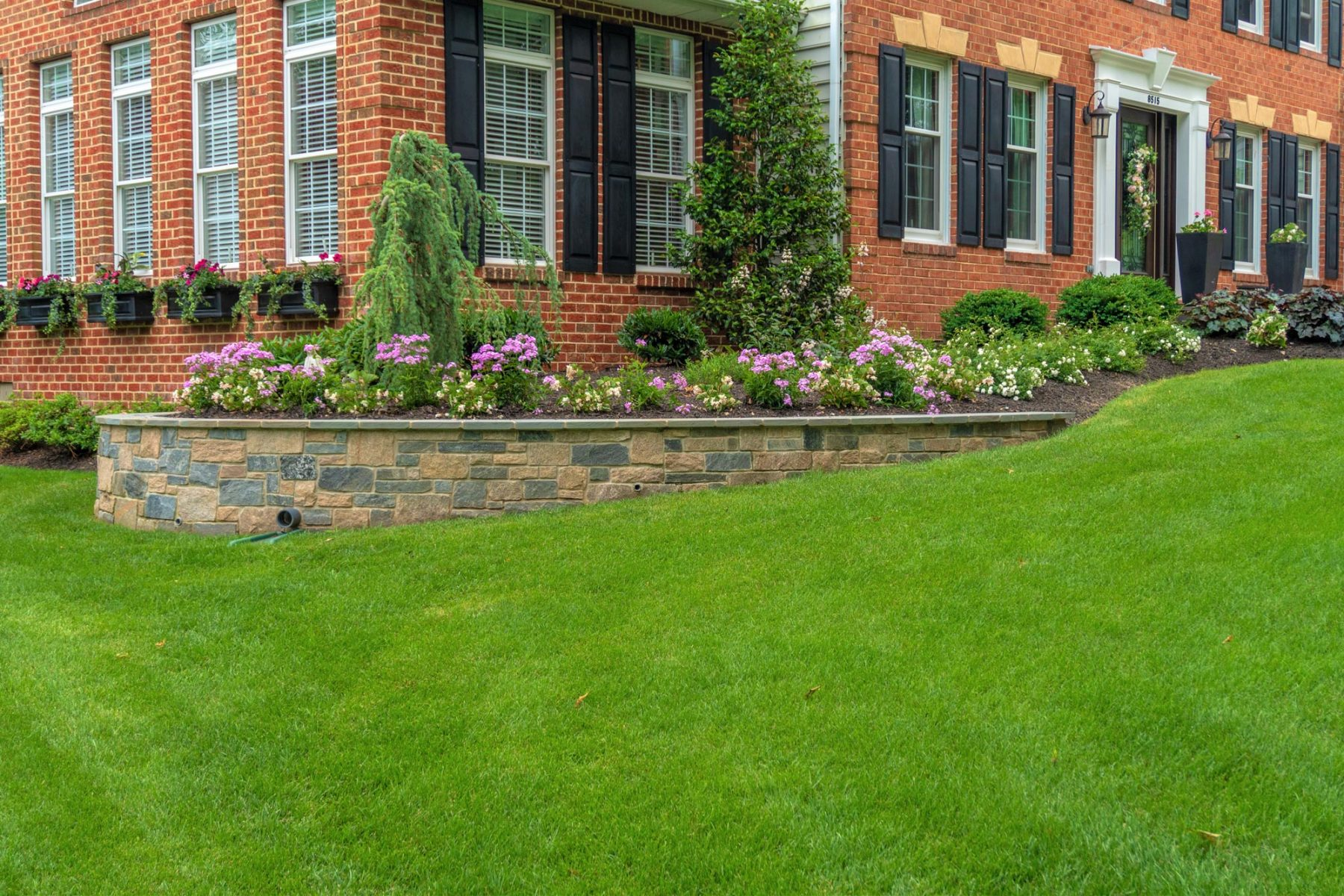 Deale Retaining Wall and Garden Wall Construction