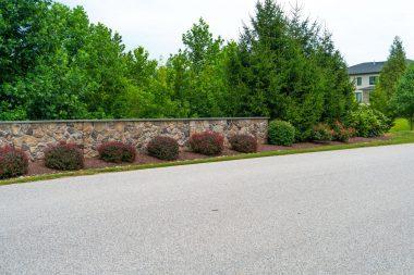 Road with landscape design in Glenwood MD
