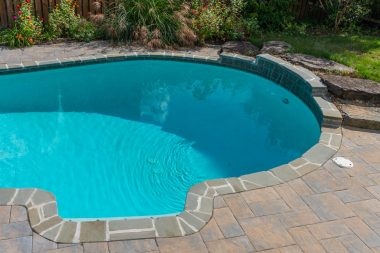 Pool with Outdoor Patio Design in Glenelg