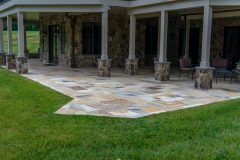 Outdoor patio design in Sykesville