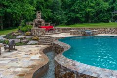 Landscape design and patio design