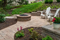 Outdoor patio design and installation in Clarksville