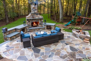 Outdoor patio design in Ellicott City