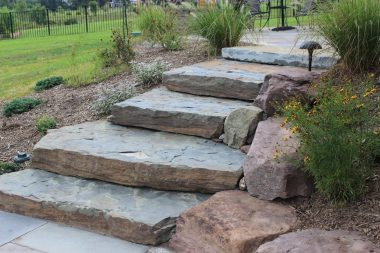 Landscape Design in Glenwood, Steppers, 2
