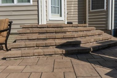Outdoor patio installation in Ellicott City, MD