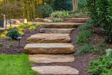 Landscape Installation in Dayton MD, steps design