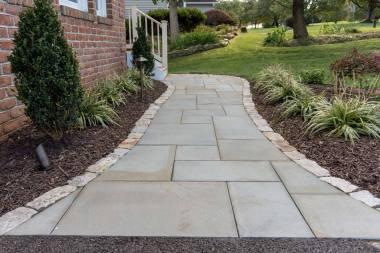 Outdoor walkway Installation in Clarksville, MD