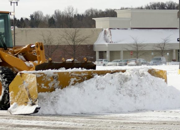 Commercial snow removal service in Sykesville