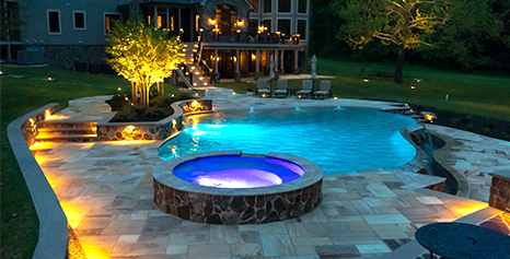 Pool Deck Design in Dayton MD, Ellicott City, Glenelg