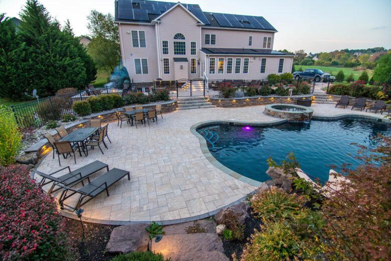 Patio Pool Deck Design in Howard County